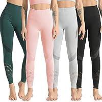 Lixada أزياء المرأة اليوغا طماق سلس أعلى الخصر الجري تسلق اللياقة البدنية الرياضة تيز اليوغا السراويل Large