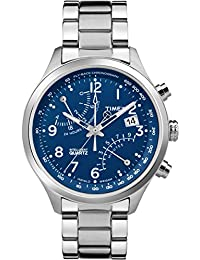 Timex TW2P60600 - Reloj de cuarzo para hombres, color plata