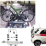 Einfacher Fahrrad-Hecktr/äger 90305020 zum Transport von 2 R/ädern auf der Heckklappe f/ür Audi A1 Sportback Adapter und Montagesatz 8X - inkl