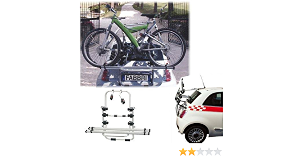 Einfacher Fahrrad Heckträger 90305176 Zum Transport Von 2 Rädern Auf Der Heckklappe Für Volkswagen Vw Up Inkl Adapter Und Montagesatz Auto