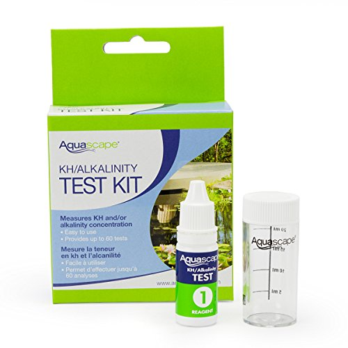 Aquascape décorative 96019 Eau kit de Test KH alcalinité pour Bassin et Fonctions de Jardin, 60 Tests