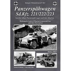 Tankograd 4014 - Panzerspähwagen Sd.Kfz. 221/222/223 - Die 4-Rad Panzerspähwagen der Wehrmacht und ihre Abarten
