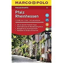 MARCO POLO Freizeitkarte Pfalz, Rheinhessen