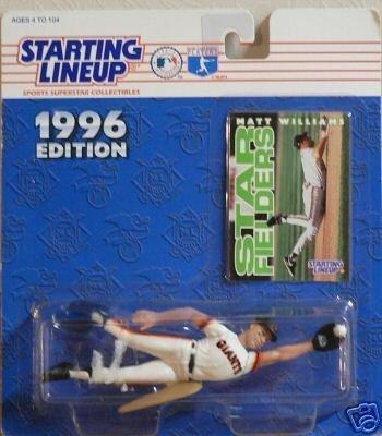 San Francisco Giants' Matt Williams Action Figure - Starting Lineup 1996 Edition Major League Baseball Star Fielders Series by Starting Line Up -