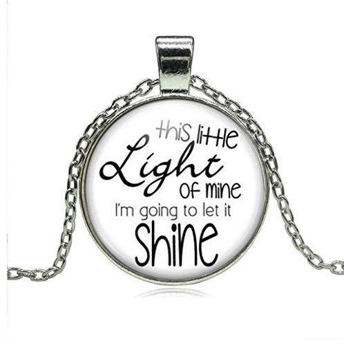 Diese Little Light of Mine Halskette, Christian Songs kinderbibelwoche Kirche Freund Geschenk