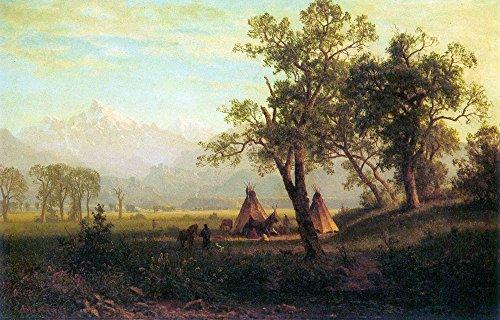 Das Museum Outlet-Wind River Mountains In Nebraska by Bierstadt-A3Poster