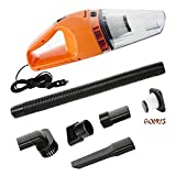 Car Vacuum Cleaner,Art Studio DC 12-Volt 120W Mini Portable Handheld Auto Vacuums,Lightweight Dustbuster Hand Vac,16.4FT(5M) Power Cord with 2 HEPA Filters
