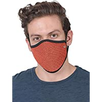 WILDCRAFT SUPERMASK W95 Plus Reusable Outdoor Respirator(LARGE) with Neckband (PACK OF 3, ORG_PUPKIN)