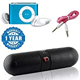Best I Pad Speakers - Captcha Portable Stereo Bluetooth Pill Speaker Surround Sound Review