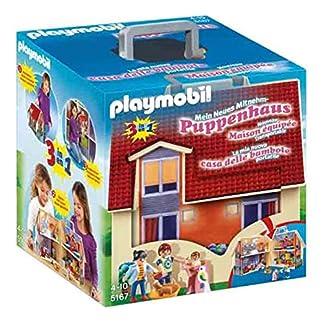 PLAYMOBIL Dollhouse Casa de Muñecas Maletín, A partir de 4 años (5167)