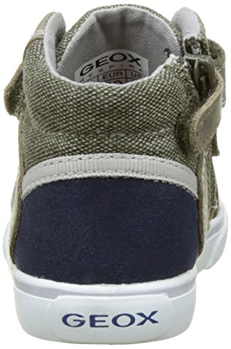 Geox - B Kilwi Boy - Chaussures Marche Bébé - Garçon Vert (OLIVE/NAVYCD3F4)