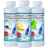 TV Top Ventes 01791 Clinical Clean Mop Accessoire Nettoyeur Vapeur Parfum Set de 3 Pièces