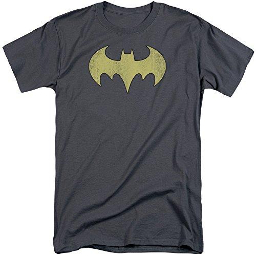 DC Comics Herren T-Shirt Anthrazit