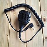 Zhuhaixmy M Kopf Schulter Handmikrofon Lautsprecher-Mikrofon PTT Für Motorola GP88S A8 Hytera Walkie Talkie