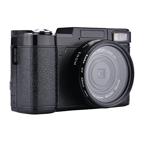 MARVUE Camcorder Kamera Full-HD 1080p 24,0 Megapixel 3 Zoll Bildschirm 4x Digital Zoom Digital Videoaufnahme