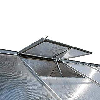 Alaskaprint Automatischer Fensteröffner Fensterheber für Gewächshäuser Gartenhäuser Gewächshaus Gartenhaus Frühbeet Öffner temperaturgesteuert