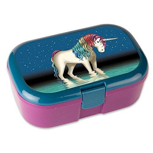 Lunch-boxbote--pain-Licorne-Magique-avec-compartiment-utilisationamovibles-Bote--Djeuner-Cuisine-Dner-Pour-FilleUnicorn-Enfants-Bote--goter-Bote-repascompartimentscloison-Compartiments-Bote--goter-Ves