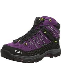 CMP RIGEL - zapatillas de trekking y senderismo de cuero niña