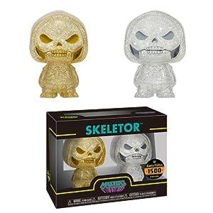 Figura Hikari Masters of The Universe Skeletor Gold Silver