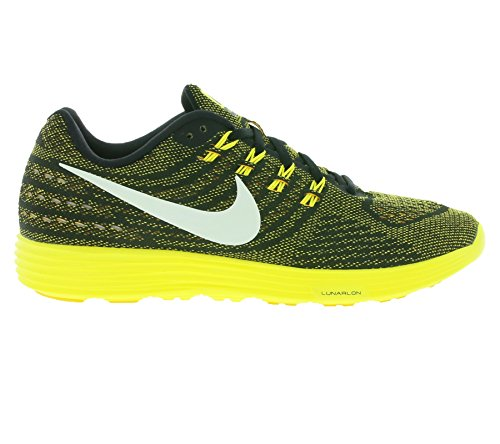 Nike Lunar Tempo 2, Chaussures de Running Compétition Homme, Bleu, Taille Multicolore - Amarillo / Blanco / Negro (Vrsty Maize / White-Blk-Opt Yllw)