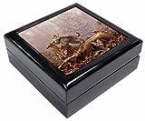 Kätzchen und Leopard Armbanduhr Bild Schmuck Box Weihnachten Geschenk
