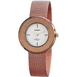 Akzent Damen-Armbanduhr Analog Quarz verschiedene Materialien SS8252000012