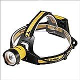 TOTOBAY Linterna Frontal LED Super Brillante Zoomable faros Exterior con 3 Modos de Luces Li...
