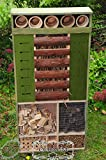 Insect Hotel, XXL, Front Cover, Weatherproof...