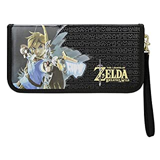 PDP Nintendo Switch Zelda Breath of the Wild Premium Travel Case for Console and Games, 500-006