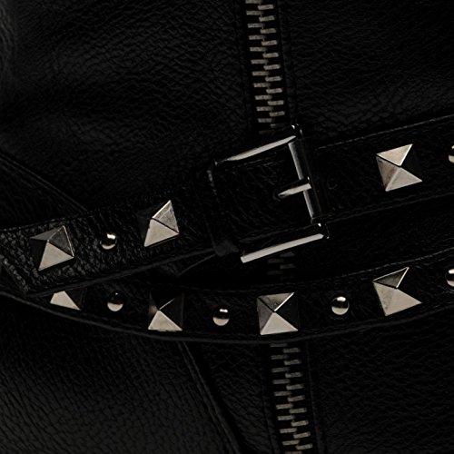 Miso Enfants Ruby Junior Filles Chaussures Bottine Bottes Longues Genoux Hiver Noir