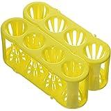 Heathrow Scientific HD120190 Adapt-A-Rack - Gradilla para tubos de ensayo (2 unidades), color amarillo