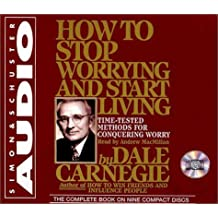 By Dale Carnegie How to Stop Worrying and Start Living (Unabridged) [Audio CD]