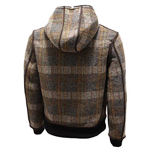2926N giubbotto uomo SHOCKLY reversibile marrone jacket man reversible Marrone