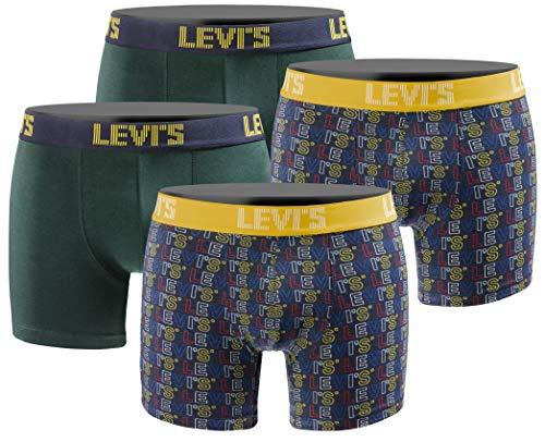 LEVIS Herren Boxershort Limited Style Edition 4er Pack