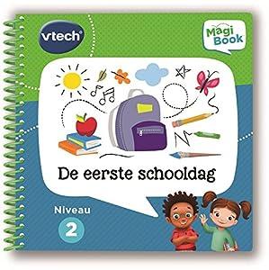 VTech MagiBook activiteitenboek - De eerste schooldag Niño/niña Juguete para el Aprendizaje - Juguetes para el Aprendizaje (193 mm, 60 mm, 206 mm, 150 g)