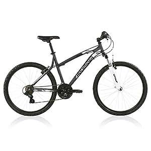 Btwin Rockrider 340 Mountain Bike, X-Large (Grey/White)