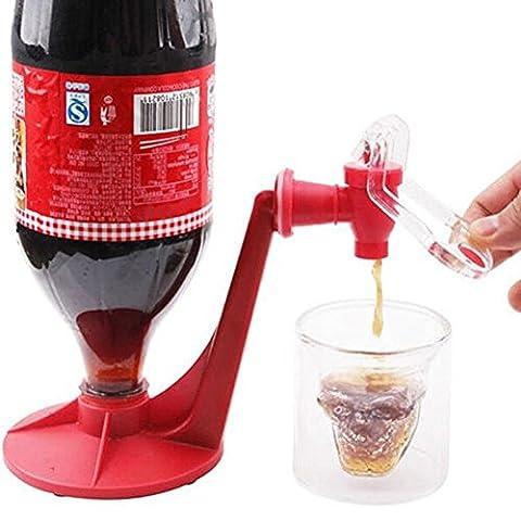 yooyoo Distributeur de soda Bouteille Coke Upside Down Eau Potable Machine distribue Home Bar Party Gadget