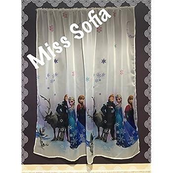 Amazon.de: Gardinen FROZEN 3 150cmB x 157cmL Kinderzimmer Vorhang DISNEY