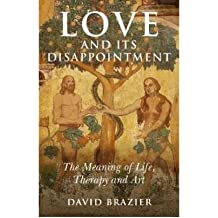 (Love and Its Disappointment: The Meaning of Life, Therapy and Art) By David Brazier (Author) Paperback on (Sep , 2009)