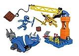 Mega Bloks 900DPK77Power Rangers Blue Ranger Battle Playset