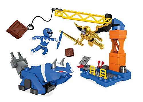 Mega Bloks 900Dpk77Power Rangers Bleu Ranger Bataille Playset