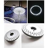 GGG LED Lampe de Tente Perche Diamètre 3,8 cm Convient Umbrella Camping Pêche Pratique ABS Lampe Tente Nuit 48 LED