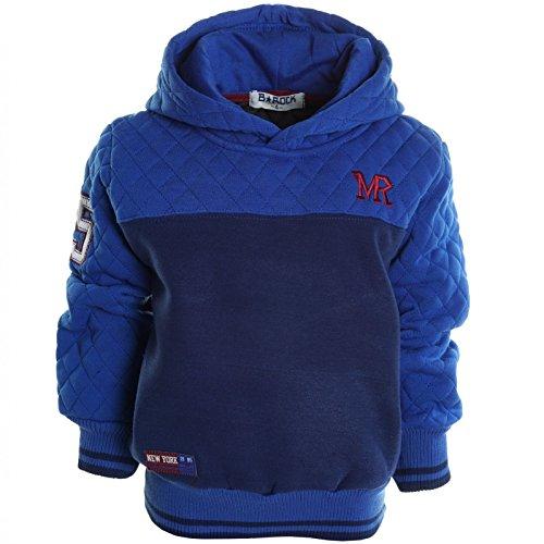 BEZLIT -  Felpa con cappuccio  - Camicia - Collo a U  - Maniche lunghe  - ragazzo Blau 8 anni
