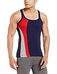 Force GoWear Mens Cotton Vest (8902889512518_MFCF-024_Large_Navy)