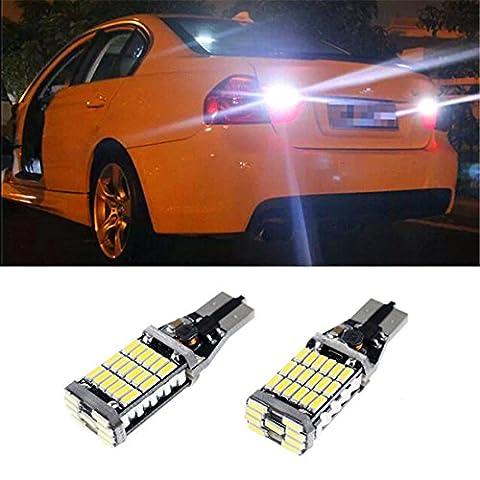 FEZZ Auto LED Bulbs CANBUS T15 W16W 921 4014 45SMD