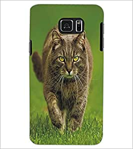 PRINTSWAG WILD CAT Designer Back Cover Case for SAMSUNG GALAXY S6 EDGE PLUS