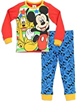 Mickey Mouse Disney Mickey Mouse Pyjamas Mickey Mouse & Pluto PJs