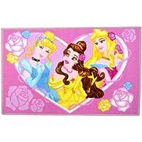 Disney - Tapis Princesse Chambre Enfant Jeux Sortie de Lit Cendrillon 50x80cm
