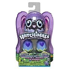 Hatchimals - 6045509 - Colleggtibles Sammelfiguren im Ei mit Oster-Bunwee-Mützen, 2er-Pack