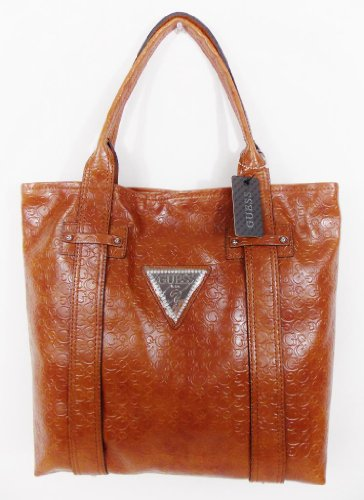 Guess - Sac a main femme - cuir synthetique marron - modele FA309325 BRIGHT CANDY